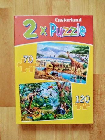 Puzzle X2, nowe, oryginalne, duże, ładne na prezent.