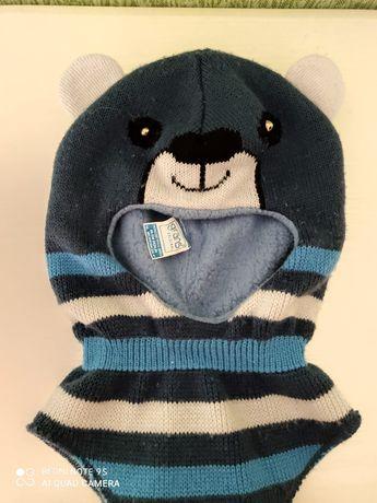 Тепла дитяча шапка-шолом