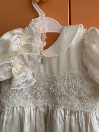 Платье для фотосессий, Крещения маленькой принцессы 0-6 месяцев