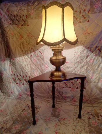 Przepiękna stylowa lampa stojąca