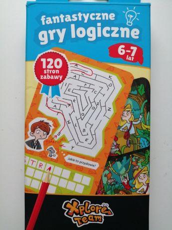 Fantastyczne gry logiczne 6-7 lat