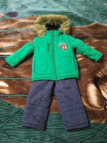 Зимний костюм для мальчика Bembi размер 92 Куртка зимняя комбинезон