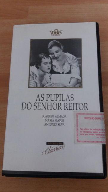 Cassete VHS: As Pupilas do Senhor Reitor (vintage)