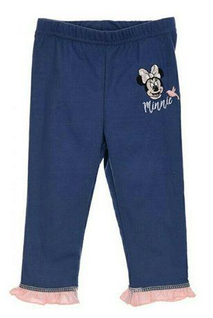 Нові!! Лосинки штанці лосіни штани тоненькі Disney Minnie  86 см