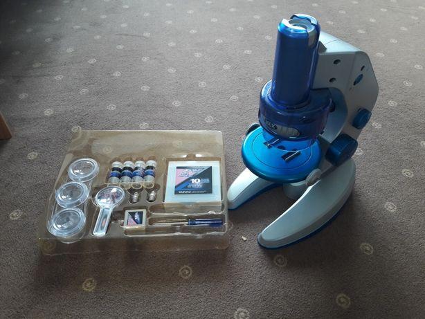 Mikroskop dziecięcy/młodzieżowy z akcesoriami