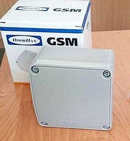 Контроллер GSM модуль для замка NICE CAME GANT Doorhan ворота шлагбаум