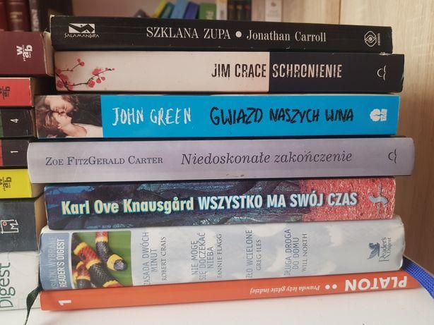 Carrol, Crace, Green, Carter, Knausgard, Digest, Platon