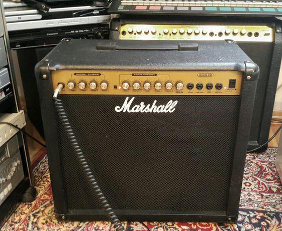 Marshall, wzmacniacz do gitary, pętla efektów, angielski głośnik,