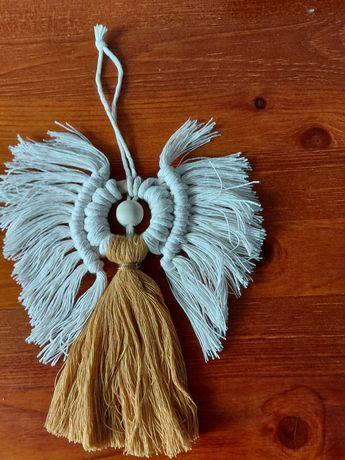 Aniołek - makrama