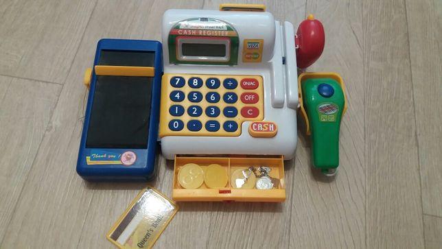 Кассовый аппарат игровой детский