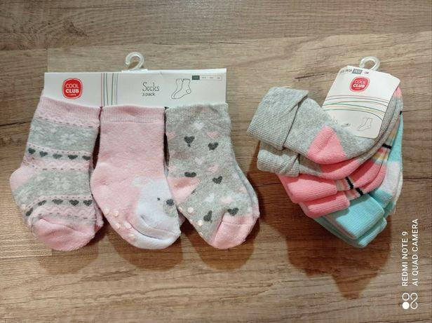 Носки тёплые для новорожденных