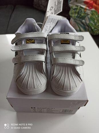 Sprzedam nowe buty Adidas Superstar rozmiar 25