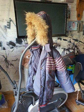 Куртка + штаны комбинезон зимний