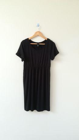 H&M sukienka tunika ciążowa rozmiar S czarna
