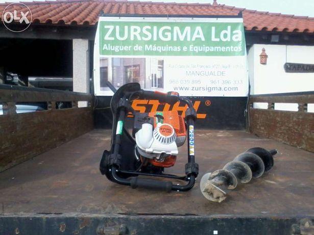 Perfurador de solo stihl a gasolina