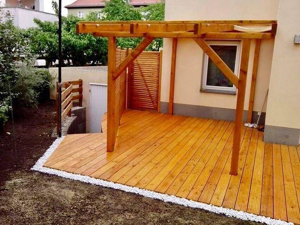 Tarasy, wiaty, zadaszenia, altany, ogrodzenia, ogrody, nawodnienia