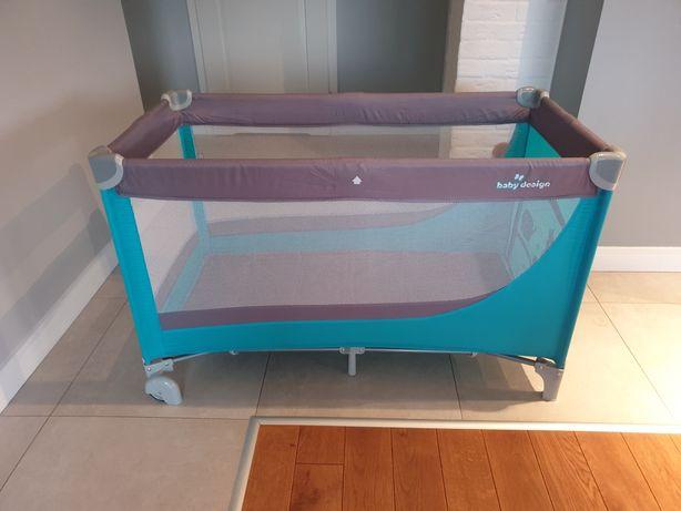 łóżeczko turystyczne składane dla dziecka b. dobry stan