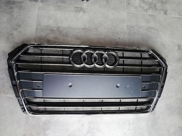 Atrapa Grill Audi A4 B9 S-LINE Oryginał