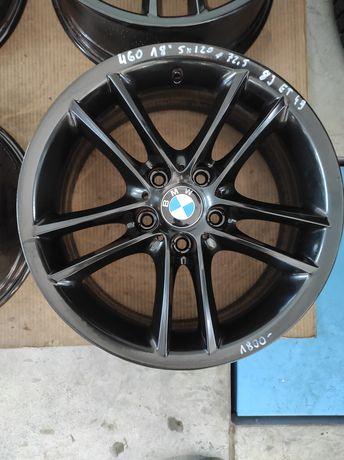460 Felgi aluminiowe ORYGINAŁ BMW R 18 5x120 otwór 72,5 Idealne Czarne