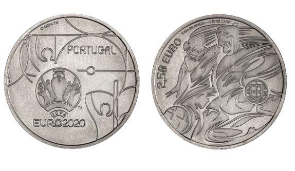 Moedas comemorativas de 2.5€ Portugal (várias, veja o anuncio)