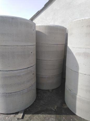Kręgi betonowe szamba studnie