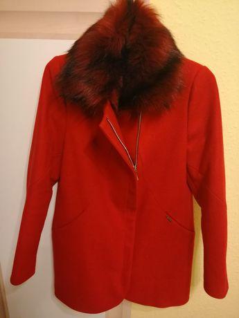 Płaszczyk z futerkiem Monica Collection