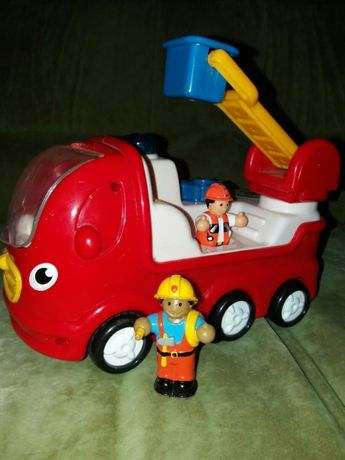 Wow пожарная и трйлер