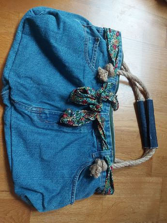 Nowa torebka z jeansu