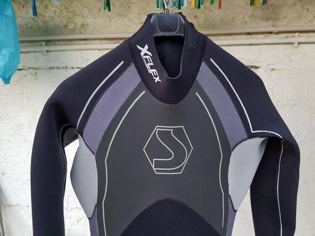Troco fato de surf 5/4 como novo