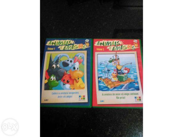 2 Dvd Animais e Amigos