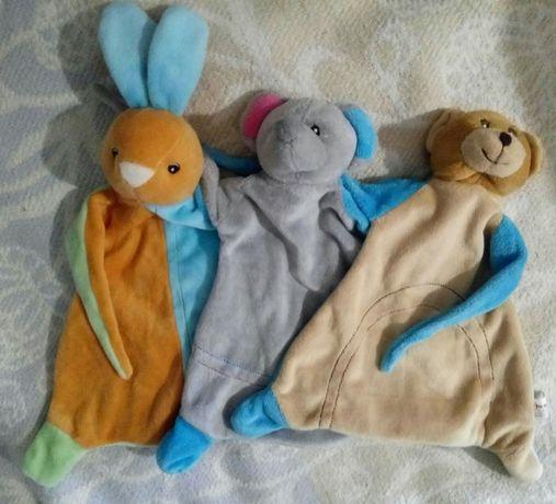 Набор велюровых игрушек утешителей Toi toys Нидерланды