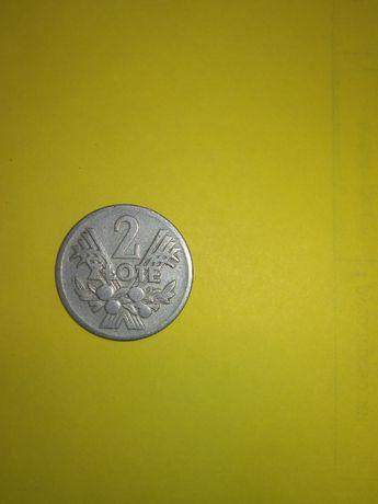 Монета 2 злотых