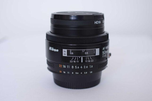 Obiektyw Nikon Nikkor 50 mm 1.8