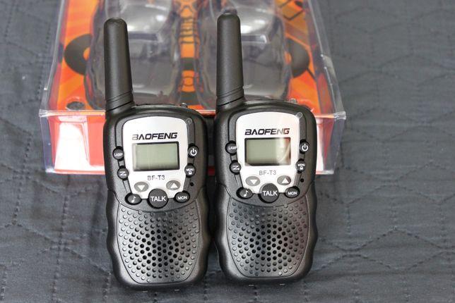 Комплект из двух раций черного цвета Baofeng BF-T3