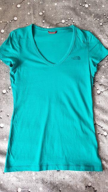 T-shirt koszulka damski The North Face turkus