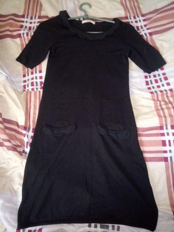 Трикотажное платье 42р