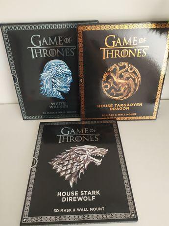Gra o Tron maska 3D, Game of Thrones Mask: House Targaryen Dragon