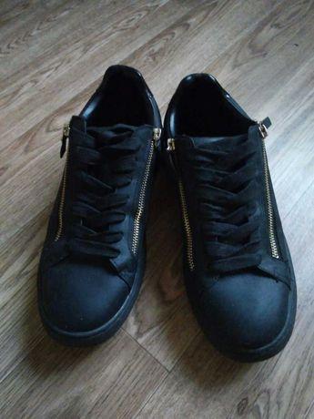 Туфли мужские черные Zara
