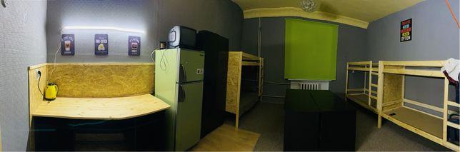Комната в общежитии на 8 и 6 мест