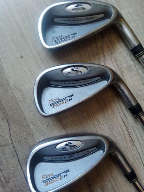 Kije golfowe King Cobra nr 4,5,9 .