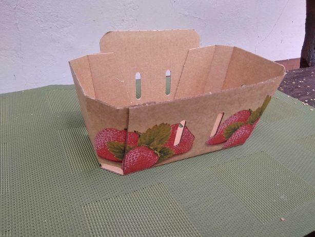 pojemniki łubianka na truskawki
