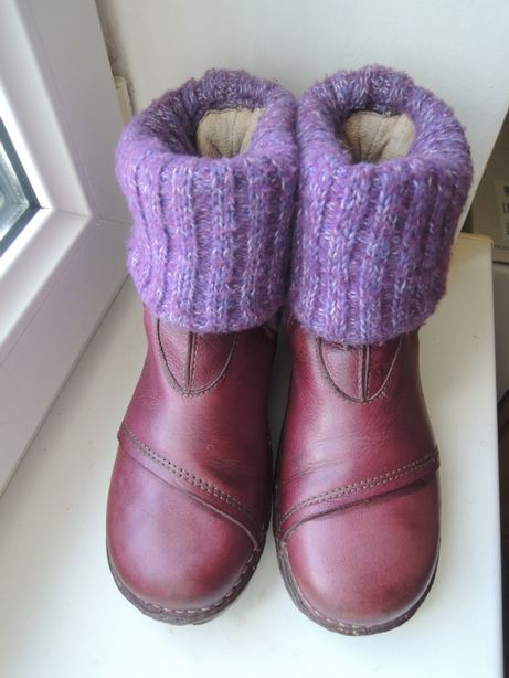 кожаные деми еврозима ботинки сапоги El Naturalista р.35 (23 см)
