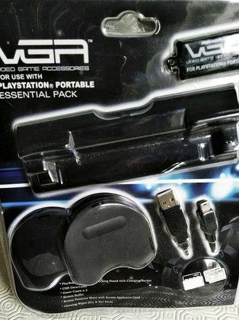 PSP - pack com acessórios para consola PSP - NOVO - FECHADO
