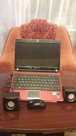 Продам полностью исправный ноутбук дешево с мышкой и колонками