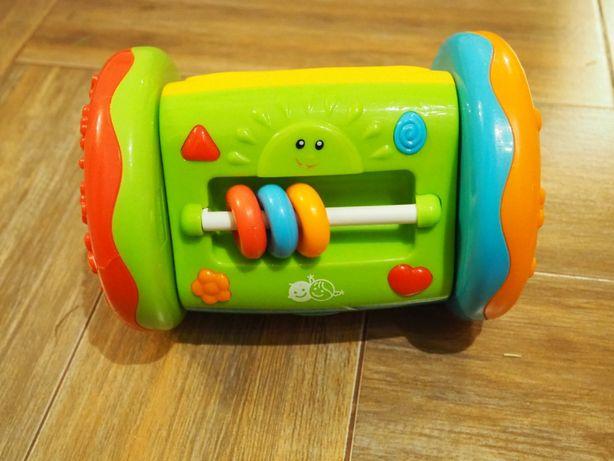 Pchacz, pozytywka zabawka dla maluszka lusterko Montessori