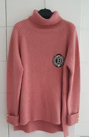 ~~ BALMAIN ~~ oversizowy sweterek ~~ NOWY ~~S