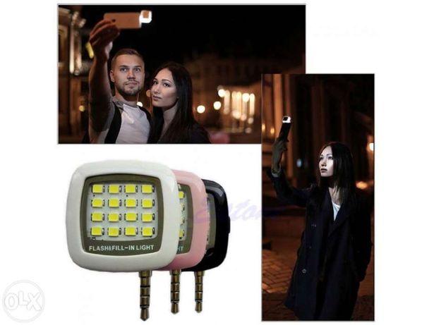 Luz LED p/ smartphones mini 16Leds