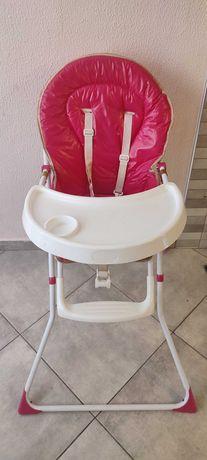 Cadeira da Papa cor de rosa