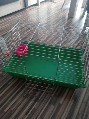 Klatka dla królika,chomika z akcesioriami