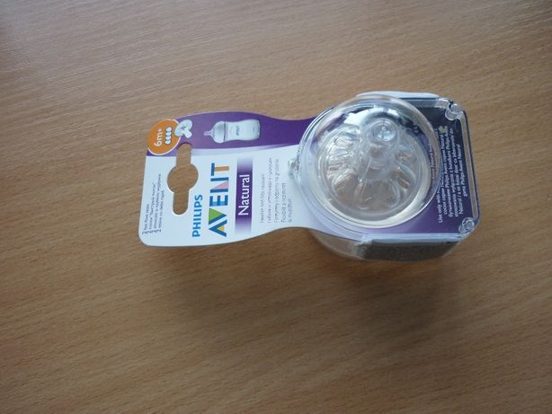 Соска Philips AVENT Natural 2.0 4 капли 6 мес+, антиколиковая, силикон